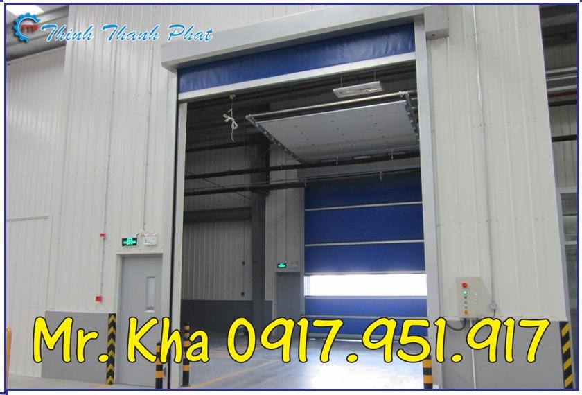 CỬA CUỐN NHANH PVC TP.HCM