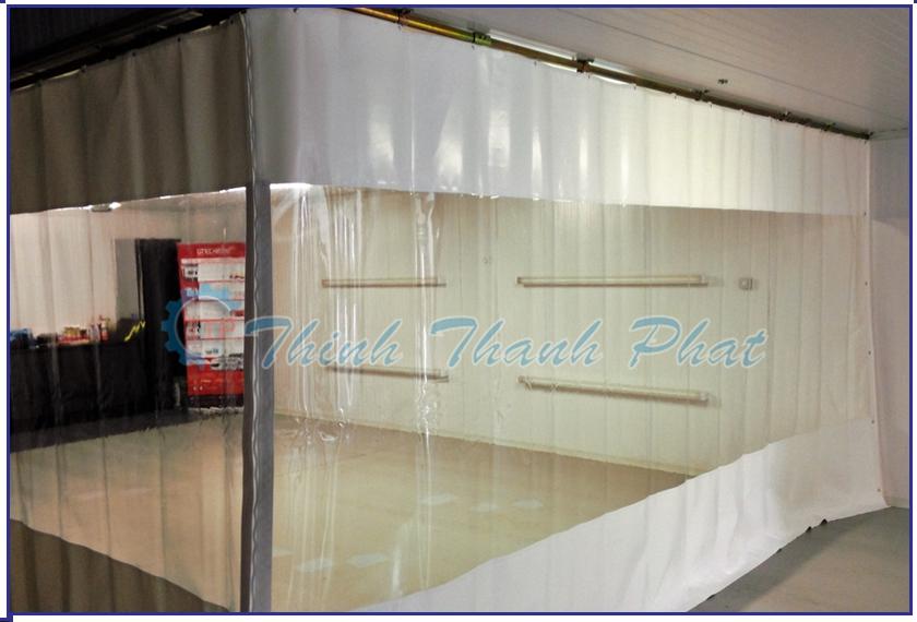 Màn - Rèm nhựa PVC khổ lớn