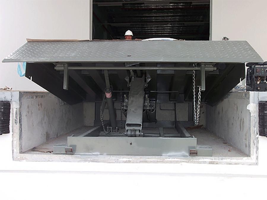 Sàn nâng cơ khí TTP-02