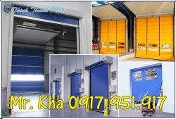 CỬA CUỐN NHANH PVC / HI-SPEED DOORS