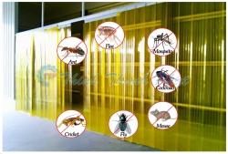 Màn - Rèm nhựa PVC chống côn trùng