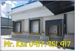 Retractable dock shelter - Bạt che container xuất nhập hàng