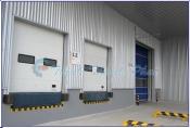 Trọn bộ hệ thống cửa xuất - nhập hàng trong kho vận, logistics